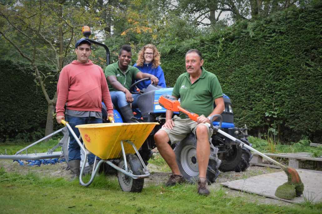 Dagbesteding natuur kwetsbare doelgroepen activiteiten groenonderhoud