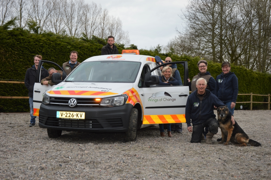 Roofvogelambulance wings of change dierenlot stichting opvang roofvogels uilen