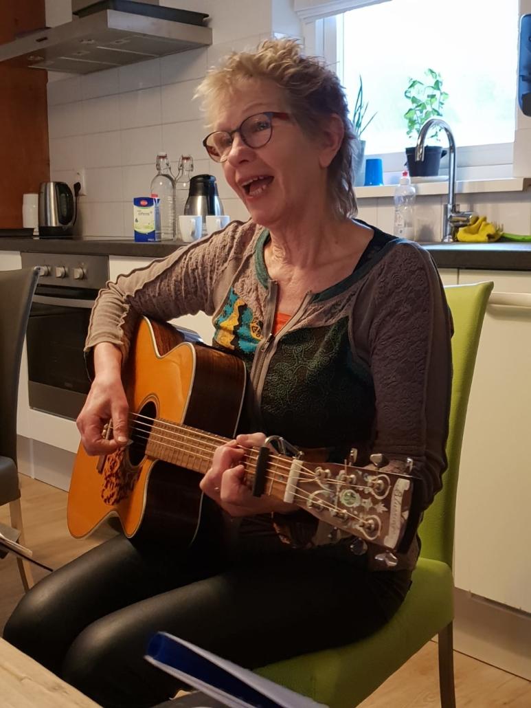 Muzikale activiteit Inloophuis de Sociale Huiskamer
